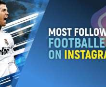Top 10 Most Followed Footballers on Instagram   Popularity Ranking