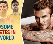 Top 10 Most Handsome Athletes In The World