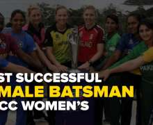 Top 10 Most Successful Female Batsmen in ICC Women's World Cup