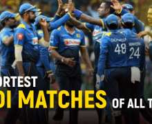 Top 10 Shortest ODI Matches of All Time