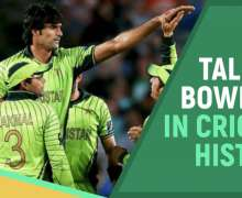Top 10 Tallest Bowlers In Cricket History   All-Time Ranking