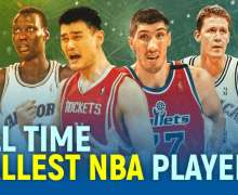 Top 10 All Time Tallest NBA Players | 2021 Updates