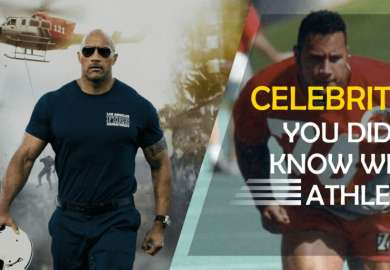 Top 10 Hollywood Celebrities You Didn't Know Were Athletes