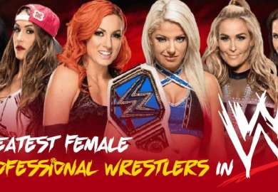 Top 10 Greatest Female Professional Wrestlers In WWE