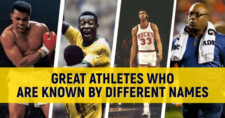 Top 10 Greatest Athletes Who Are Known By Different Names