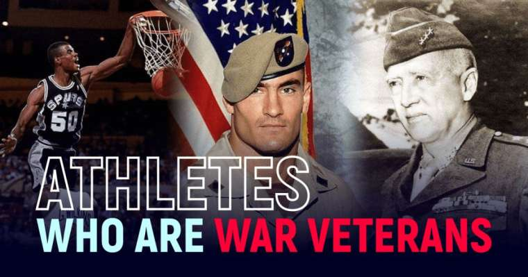 Top 10 Athletes Who Are War Veterans