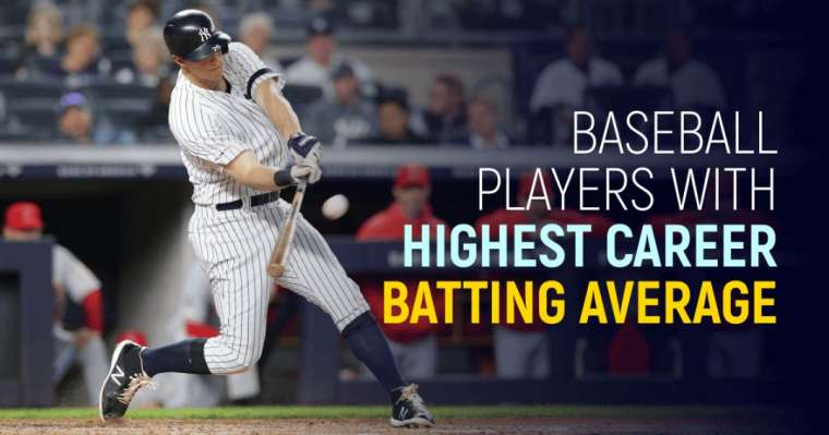 Top 10 Baseball Players With Highest Career Batting Average