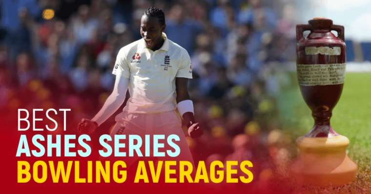 Top 10 Best Ashes Series Bowling Averages | All-Time Stats
