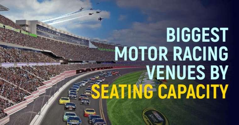 Top 10 Biggest Motor Racing Venues By Seating Capacity