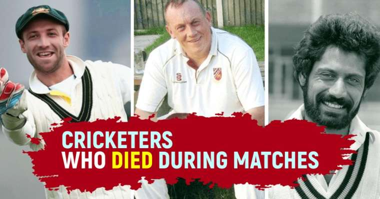 10 Greatest Cricketers Who Died During Matches | Black Days In Cricket