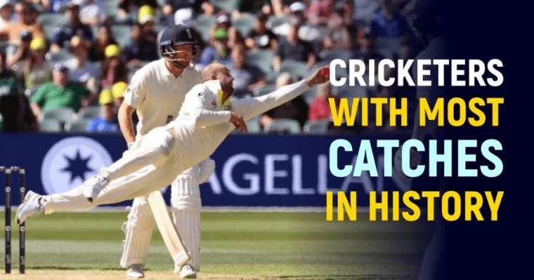 Top 10 Cricketers With Most Catches In History | All-Time Ranking