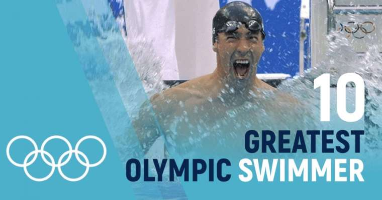 Top 10 Greatest Olympic Swimmers of All Time