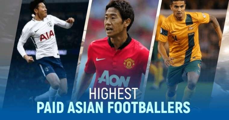 Top 10 Highest Paid Asian Footballers   2021 Football Money List