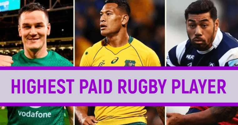 Top 10 Highest Paid Rugby Players In The World | Rugby Rich List 2021