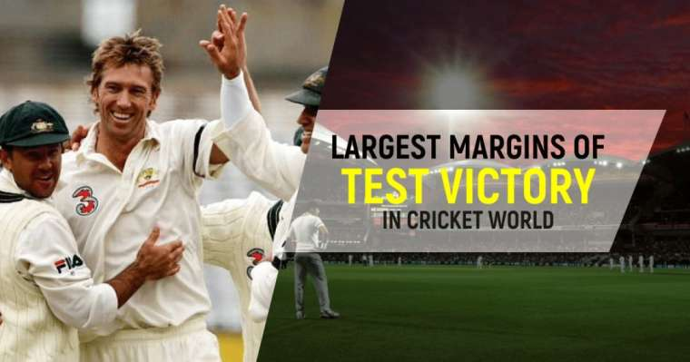 Top 10 Largest Margins Of Test Victory In Cricket World | ICC Updates