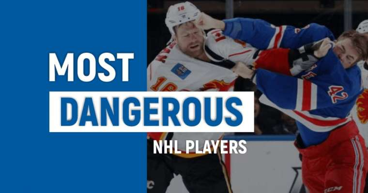 Top 10 Most Dangerous NHL Players In The World