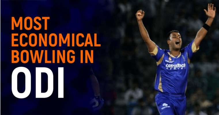 Top 10 Most Economical Bowling In ODI | All-Time Ranking