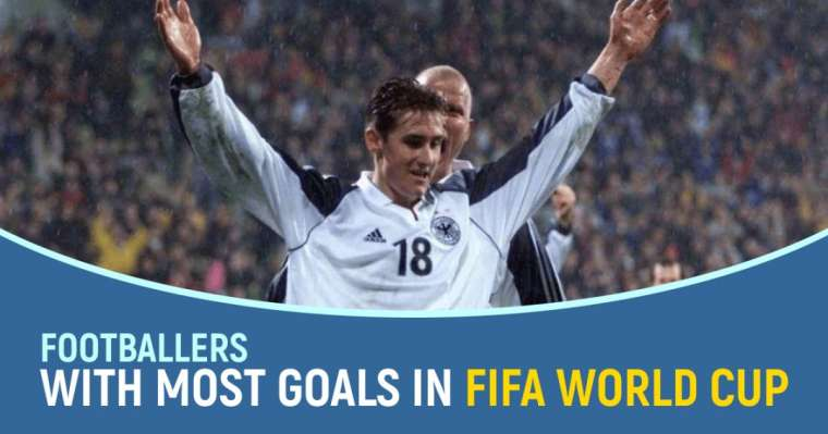 Top 10 Footballers With Most Goals in FIFA World Cup
