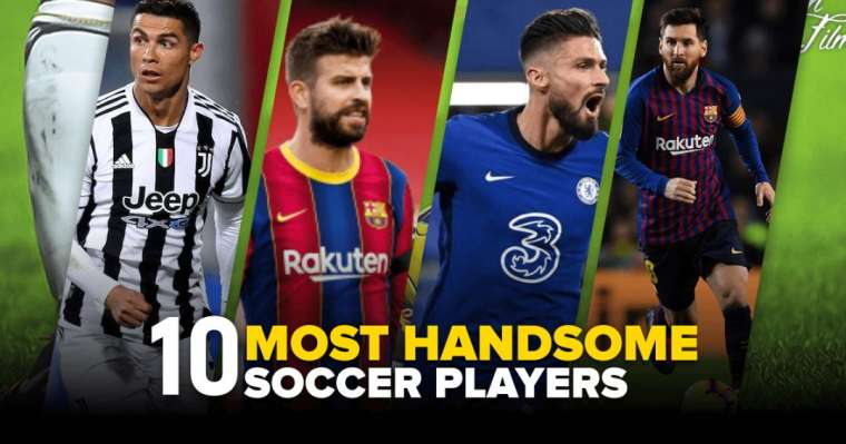 Top 10 Most Handsome Soccer Players In 2021   Hottest Footballers