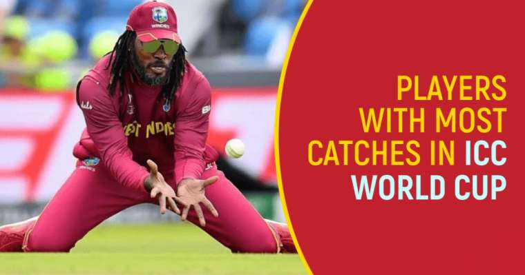 Top 10 Players with Most Catches In ICC World Cups   Cricket Updates