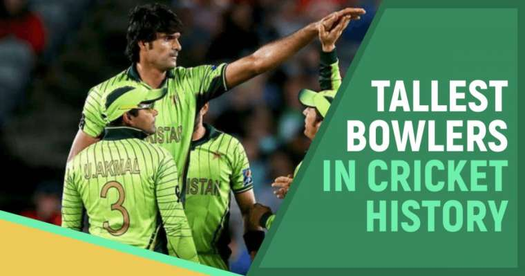 Top 10 Tallest Bowlers In Cricket History | All-Time Ranking