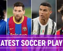Top 10 Greatest Soccer Players   All Time Best Footballers