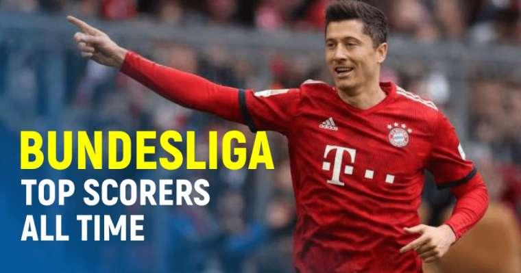 10 Bundesliga Top Scorers All Time | German Football League Ranking