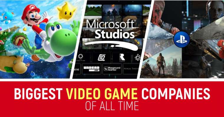 Top 10 Biggest Video Game Companies of All Time
