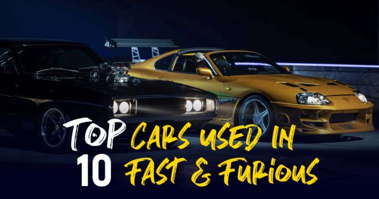 Top 10 Best Cars Used In Fast & Furious Movie Series