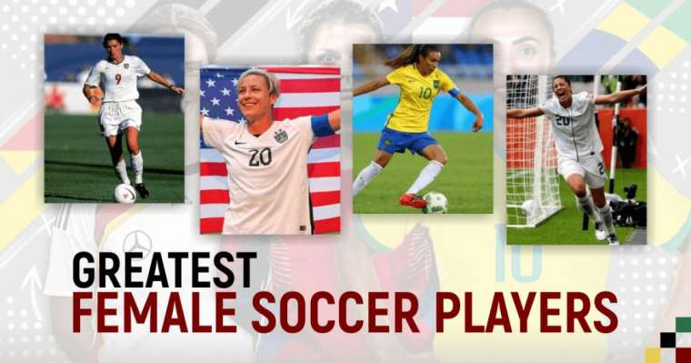Top 10 Greatest Female Soccer Players Of All Time