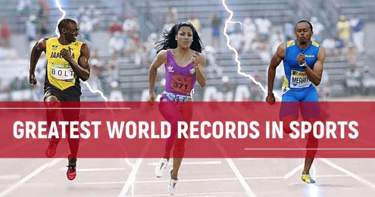 Top 10 Greatest World Records In Sports