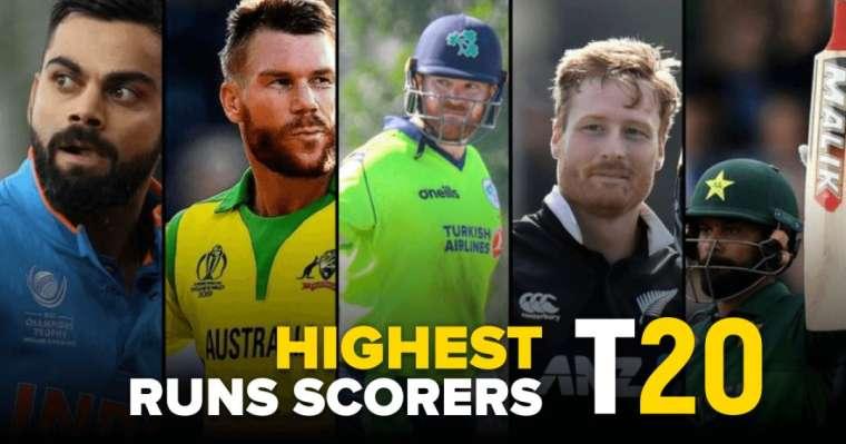 Top 10 Highest T20 Runs Scorers Of All Time