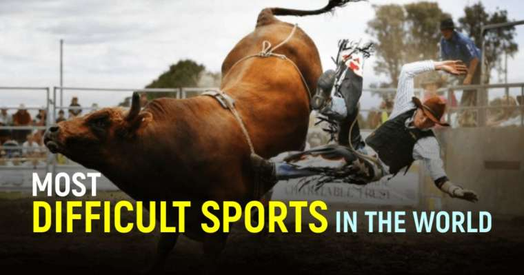 Top 10 MostDifficultSports in the World   Toughest Sports