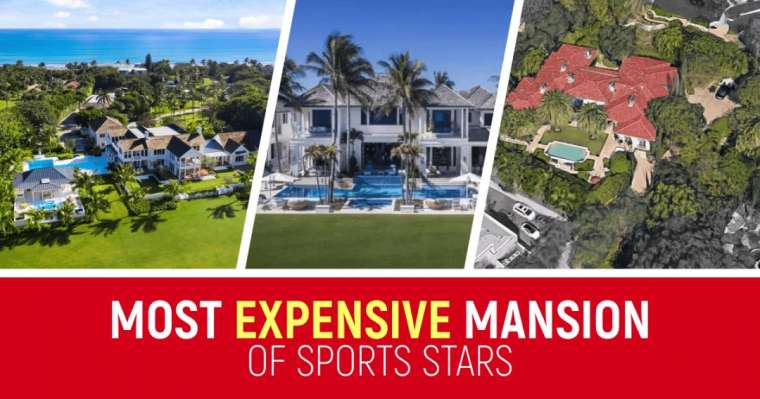 Top 10 Most Expensive Mansion Of Sports Stars