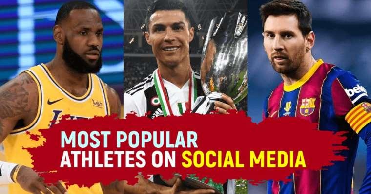 Top 10 Most Popular Athletes On Social Media