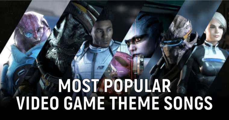 Top 10 Most Popular Video Game Theme songs Of All Time