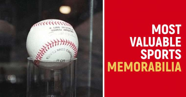 Top 10 Most Valuable Sports Memorabilia In The World