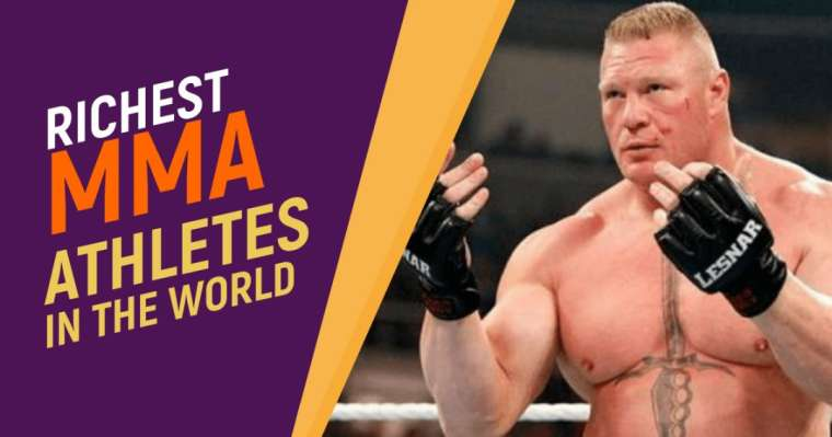 Top 10 Richest MMA Athletes In The World