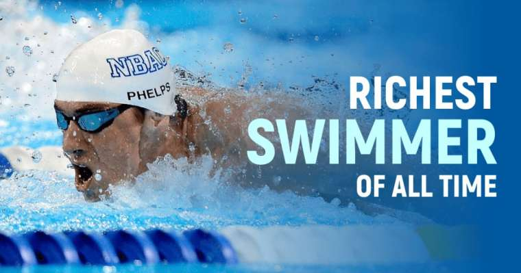 Top 10 Richest Swimmers of All Time