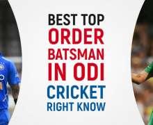Top 10 Best Top-Order Batsmen In ODI Cricket Right Now