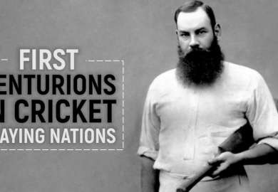 Top 10 First Centurions In Cricket Playing Nations