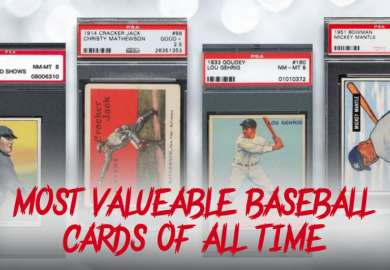 Top 10 Most Valuable Baseball Cards Of All Time
