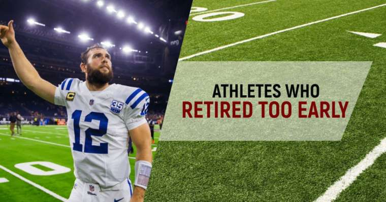 Top 10 Athletes Who Retired Too Early