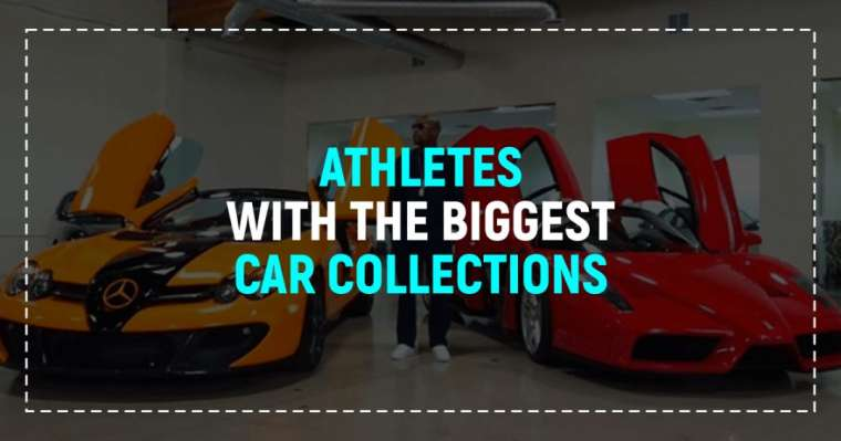 Top 10 Athletes With The Biggest Car Collections