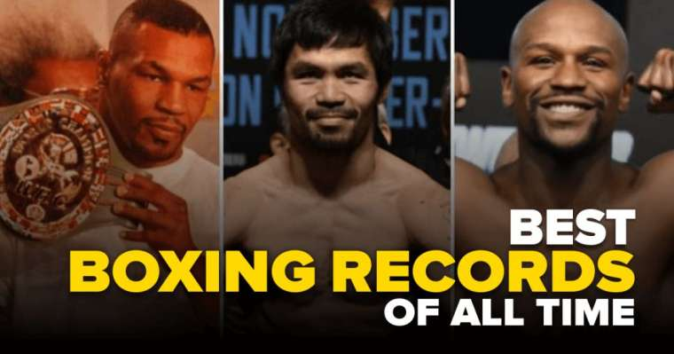 Top 10 Best Boxing Records Of All Time