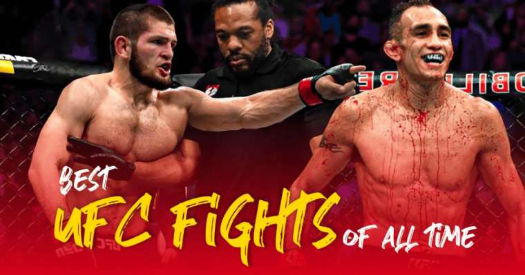 Top 10 Best UFC Fights Of All Time