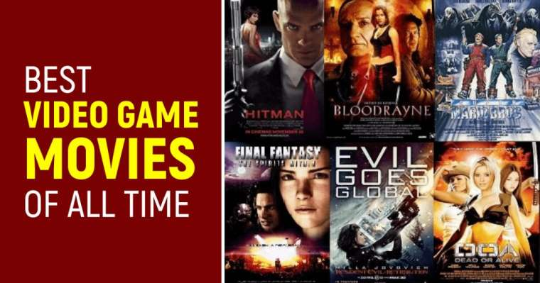 Top 10 Best Video Game Movies of All Time