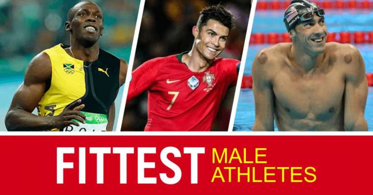 Top 10 Fittest Male Athletes In The World