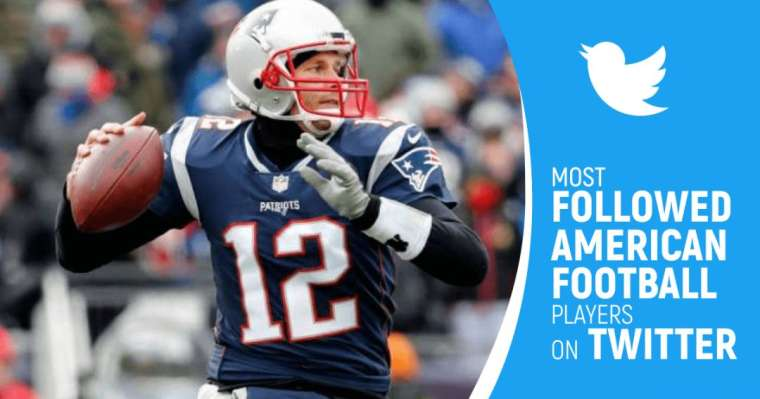 Top 10 Most Followed American Football Players On Twitter