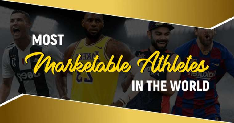 Top 10 Most Marketable Athletes In The World